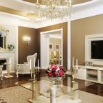 Специфика обустройства дизайна квартиры в классическом стиле