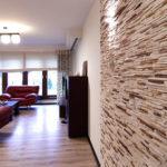 Применение декоративного камня в интерьере