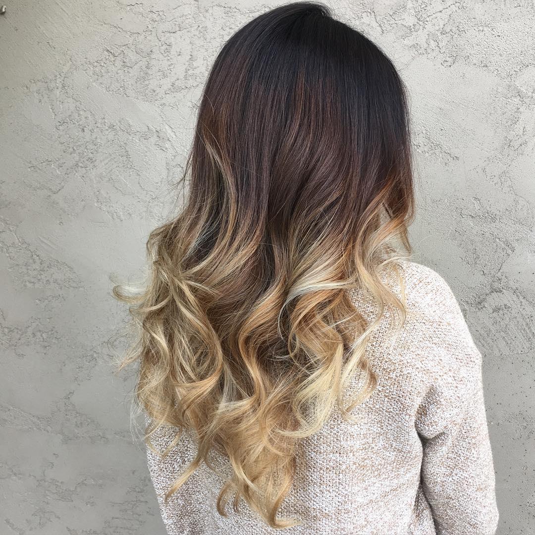 Омбре и шатуш – отличия модных техник окрашивания волос