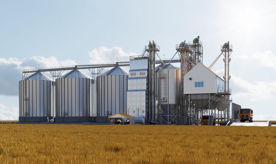 Бункер для хранения зерна: особенности и преимущества
