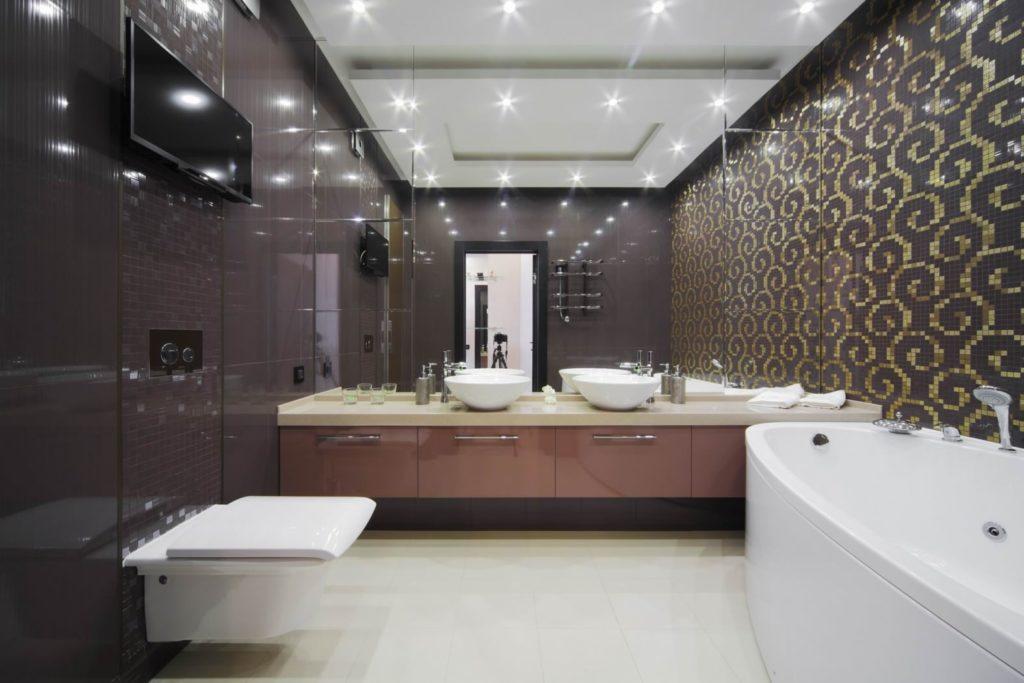 Модная и красивая сантехника для современной ванной