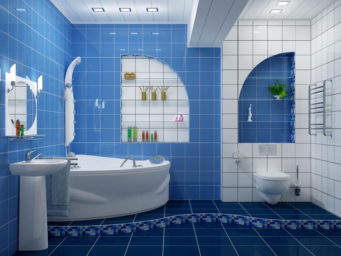 Выбор цвета для интерьера ванной комнаты