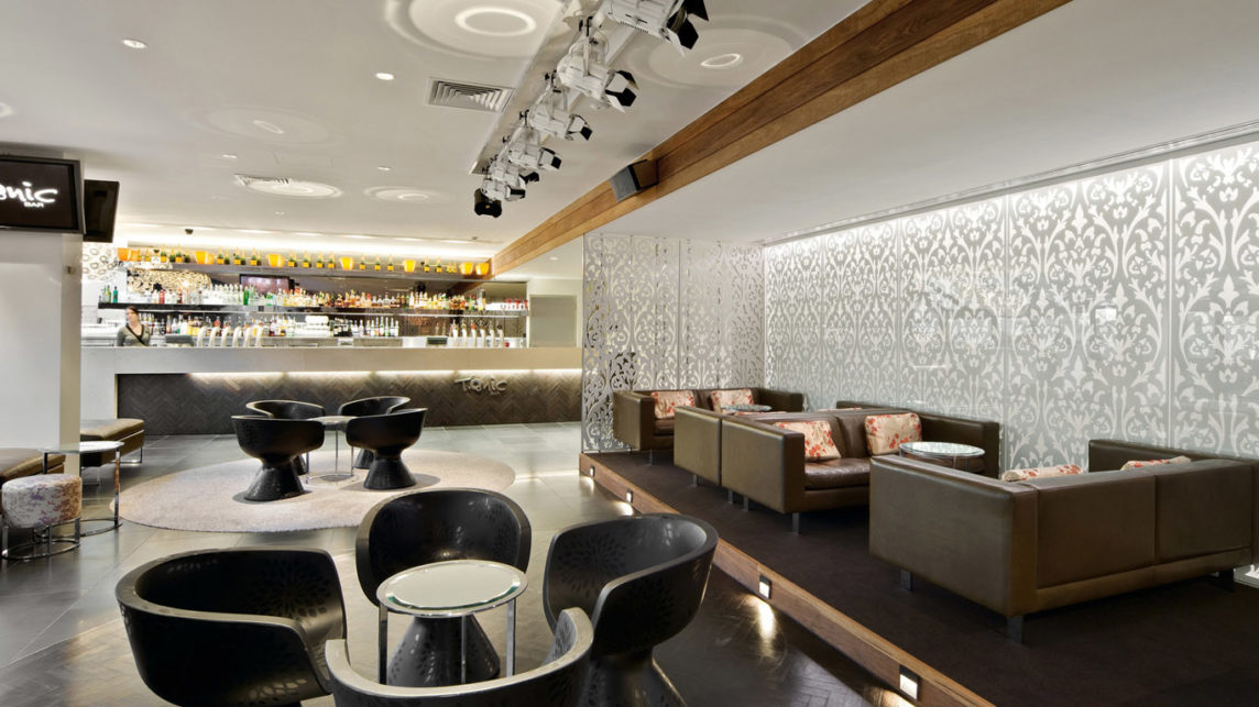 Стиль Хай-Тек в дизайне кафе или ресторана